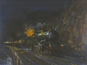 Night Express by Terence Cuneo