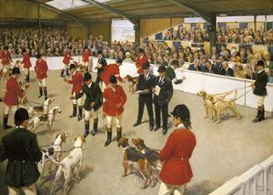 Peterborough Show by Terence Cuneo