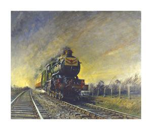 The Cheltenham Flyer by Terence Cuneo