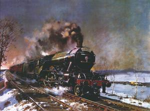 The Flying Scotsman by Terence Cuneo