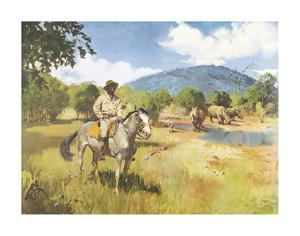 The Game Warden by Terence Cuneo