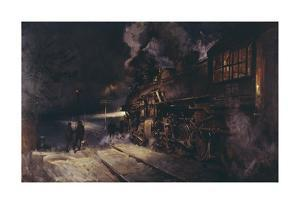 Yesterday's Winter by Terence Cuneo
