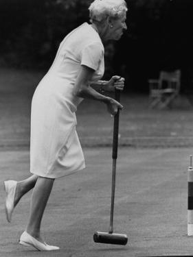 Croquet Tournament, England by Terence Spencer