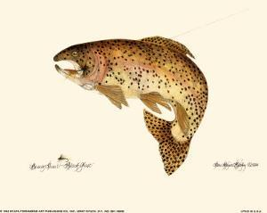 Brown Trout by Teri Renee Blehm