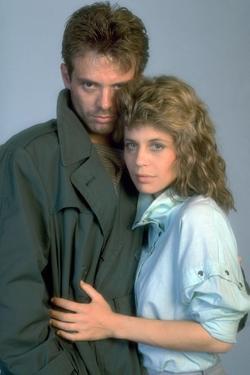 Terminator by JamesCameron with Michael Biehn and Linda Hamilton, 1984 (photo)