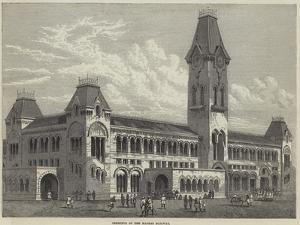 Terminus of the Madras Railway