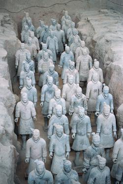Terra Cotta Soldiers in Qin Shi Huangdi Tomb