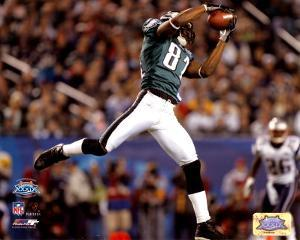 Terrell Owens - Super Bowl XXXIX - Makes The Reception For A 30 Yard Completion