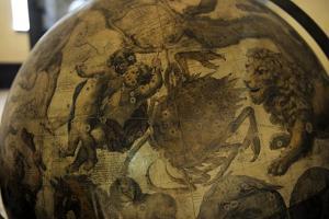 Terrestrial Globe by Cosmographer Vicenzo Coronelli