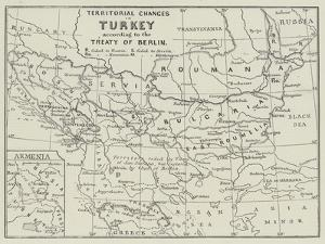 Territorial Changes in Turkey