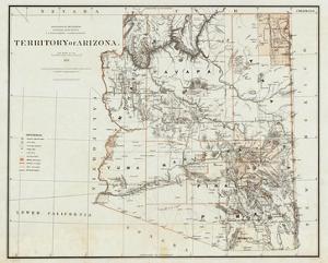Territory of Arizona, c.1879