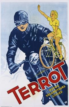 Terrot Cycles Poster
