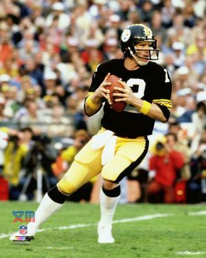Terry Bradshaw Super Bowl XIII Action