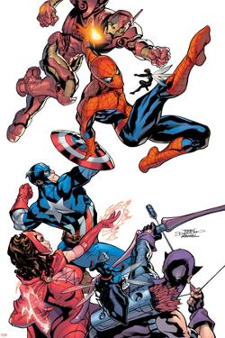 Marvel Knights Spider-Man No.2 Cover: Spider-Man by Terry Dodson