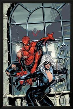 Marvel Knights Spider-Man No.4 Cover: Spider-Man and Black Cat by Terry Dodson