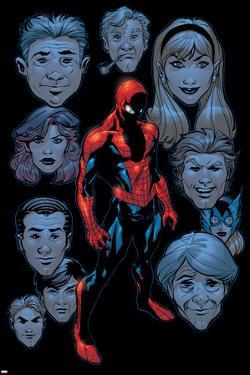 Marvel Knights Spider-Man No.9 Headshot: Spider-Man by Terry Dodson