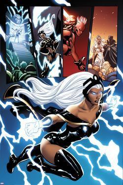 Origins Of Marvel Comics X Men No1 Storm Flying By Terry