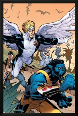 Uncanny X-Men #506 Cover Featuring Beast, Angel by Terry Dodson