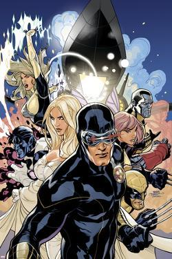 Uncanny X-Men No.505 Cover: Cyclops, Emma Frost and Dazzler by Terry Dodson