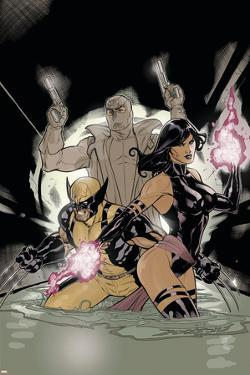 Uncanny X-Men No.520 Cover: Psylocke, Wolverine and Fantomax by Terry Dodson