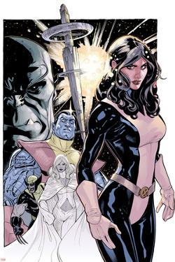 Uncanny X-Men No.535 Cover: Kitty Pryde, Colossus, Wolverine, and Emma Frost by Terry Dodson