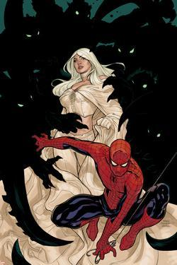 X-Men No.8 Cover: Spider-Man and Emma Frost by Terry Dodson