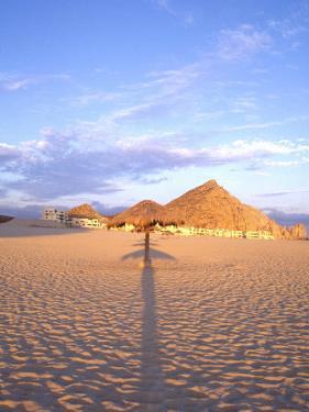 Beach Hut and Ocean, Cabo San Lucas, Mexico by Terry Eggers