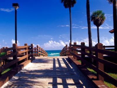 Boardwalk, South Beach, Miami, Florida, USA by Terry Eggers