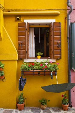 Colorful Houses of Burano. by Terry Eggers