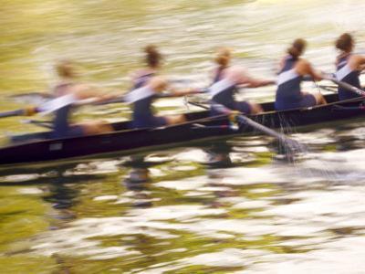 Crew Rowing, Seattle, Washington, USA by Terry Eggers