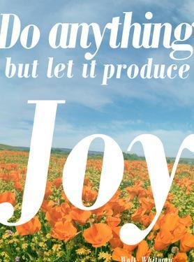 Do Anything Produce Joy by Terry Eggers