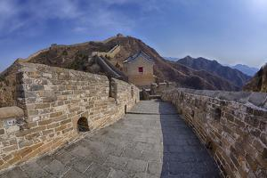 Evening Light on the Great Wall of China by Terry Eggers