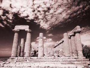 Italy, Sicily, Agrigento. Ruins of ancient Agrigento by Terry Eggers