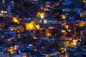 Night Lighting of the City of Guanajuato by Terry Eggers