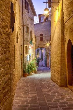 Sunset around Scorcio Nei Pressi Di Santa Maria Maggiore Assisi by Terry Eggers