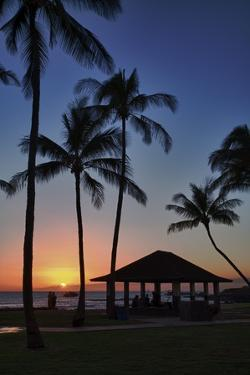 Sunset on the Westside of Maui by Terry Eggers
