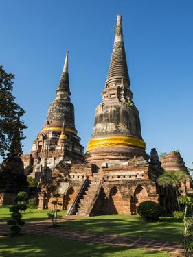 Thailand, Ayutthaya, Phra Nakhon Si Ayutthaya Old Siam Temple by Terry Eggers