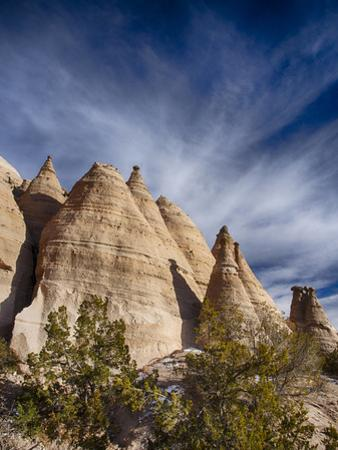 USA, New Mexico, Cochiti, Tent Rocks Monument by Terry Eggers