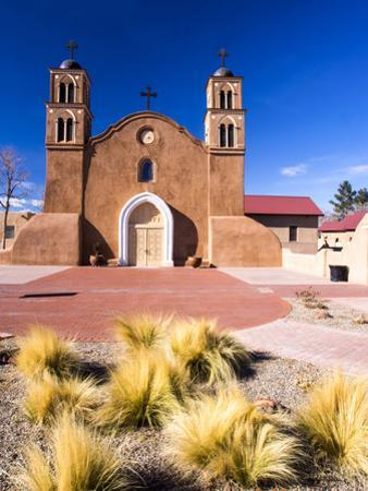 USA, New Mexico, Socorro, Mission San Miguel Socorro by Terry Eggers