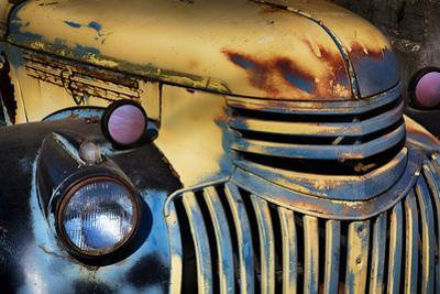 USA, Washington State, Palouse Country, Old Chevy with rust by Terry Eggers