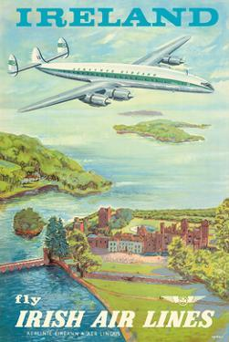 "Ireland - Fly Irish Air Lines - Lockheed Martin Constellation ""Connie"" Aircraft by Terry"
