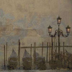 Mini Dawn and the Gondolas II by Terry Lawrence
