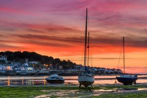 Appledore August Sunset by Terry Mathews
