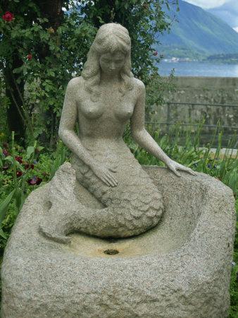 Mermaid, Stresa, Piedmont, Italy, Europe