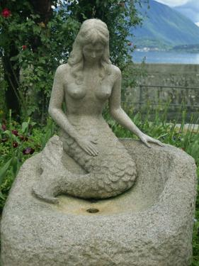 Mermaid, Stresa, Piedmont, Italy, Europe by Terry Sheila