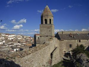 Rooftops of Town from the Castle, Bovino, Puglia, Italy, Europe by Terry Sheila