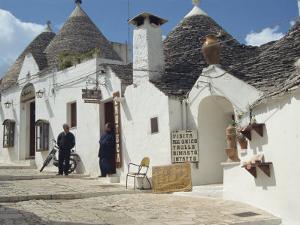 Traditional Architecture of Trulli, Alberobello, UNESCO World Heritage Site, Puglia, Italy, Europe by Terry Sheila