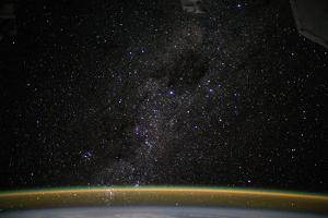 Iss View of the Milky Way and the Coalsack Nebula by Terry Virts