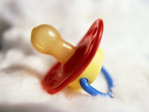 Close-up of Baby's Pacifier by Terry Why
