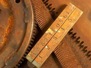 Dilapidated Work Tools by Terry Why